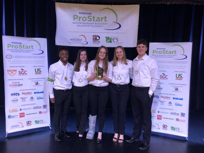 Prostart team takes 1st Place in Missouri ProStart Management Competition