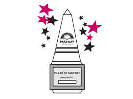 Pillar award logo